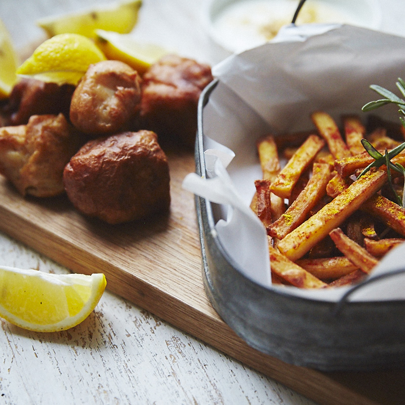 Tiny Kitchen Fish And Chips: Recipes & Techniques