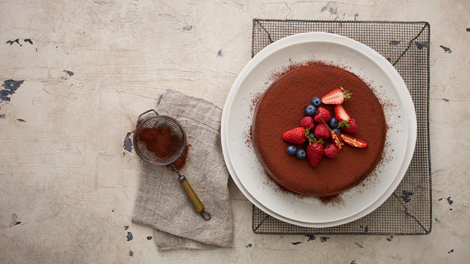 Chocolate Chilli Truffle Cake The Neff Kitchen