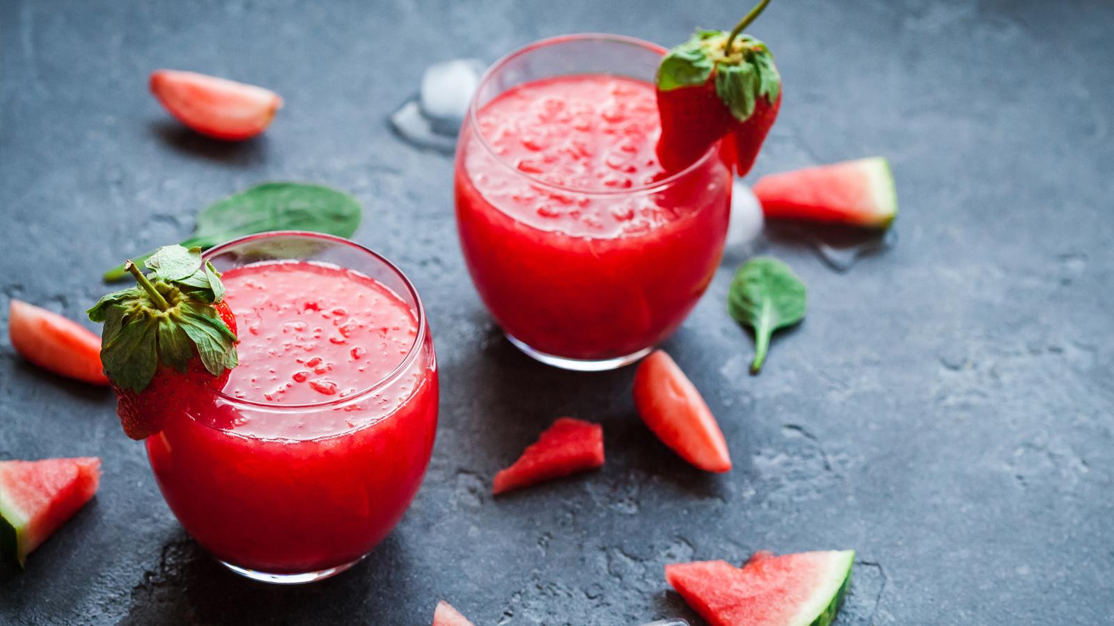 Strawberry daquiris