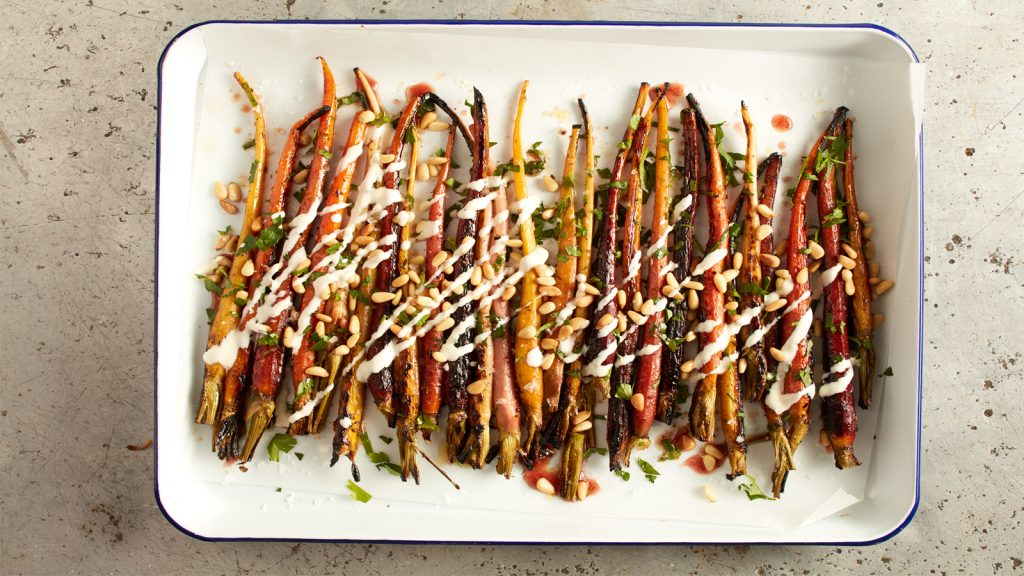 Caramelised carrots feature