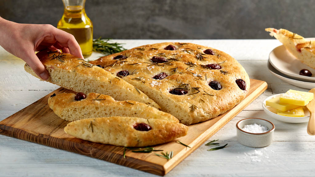 Rosemary And Olive Focaccia The Neff Kitchen