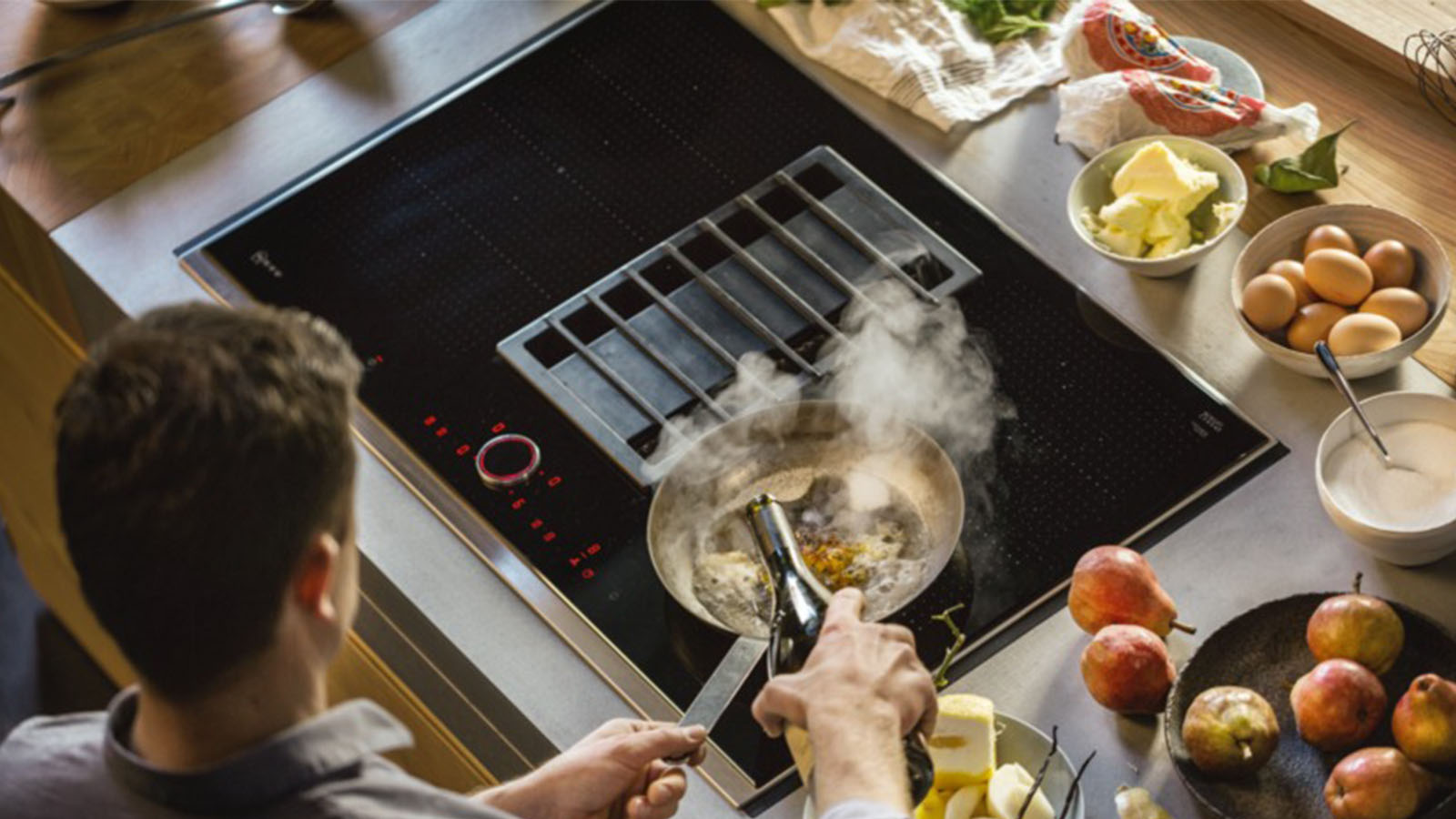 vented cooktop