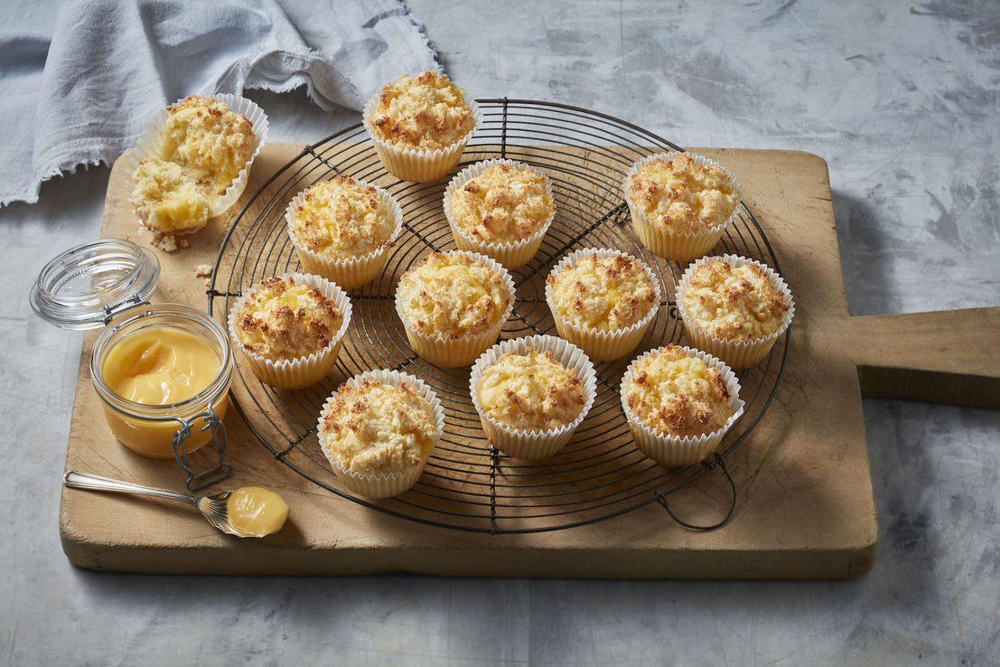 lemon coconut cakes